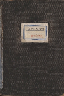 Kronika Szkoły Podstawowej w Brójcach - rok szkolny 1983/1984