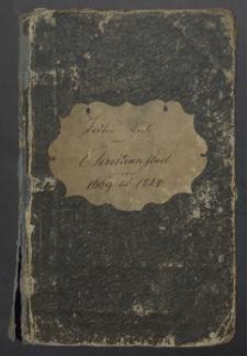 Todten-Liste von Christianstadt 1669 bis 1824