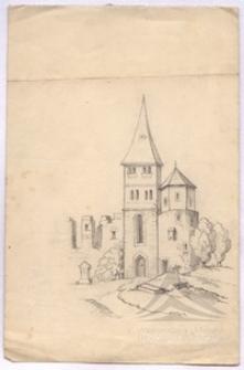 Fragment zamku