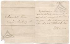 List D. Lubomirskiej do Adiny Turno