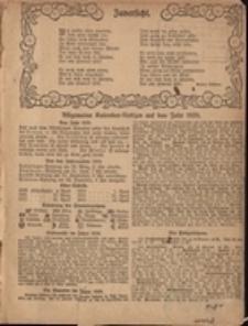 Grünberger Hauskalender 1920