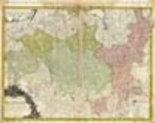 Carte de l`Electorat de Brandenburg presentée tres humblement a Son Alteste Rojale Monsgr. le Prince Frederic Guillaume, Prince de Prusse & Marggrave de Brandenbourg par François Louis Gussefeld