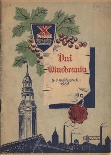 Dni Winobrania: 2-3 października 1954