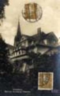 Świebodzin / Schwiebus; Blick zur Konditorei Pfaender