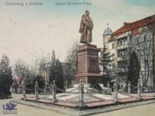 Zielona Góra / Grünberg; Plac Bohaterów; Kaiser Wilhelm Platz