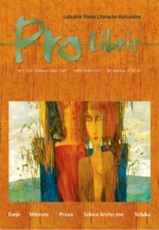 Pro Libris: Lubuskie Pismo Literacko-Kulturalne, nr 1 (2005)