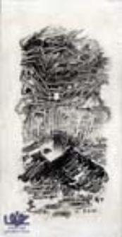 """[Bez tytułu] (ilustracje do wierszy Romualda Szury """"Sosnowe klawisze"""" [1])"""