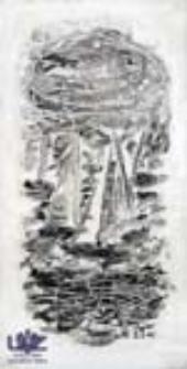 """[Bez tytułu] (ilustracje do wierszy Romualda Szury """"Sosnowe klawisze"""" [3])"""