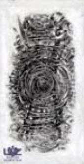 """[Bez tytułu] (ilustracje do wierszy Romualda Szury """"Sosnowe klawisze"""" [6])"""