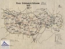Kreis Grünberg in Schlesien 1941 [Dokument kartograficzny]
