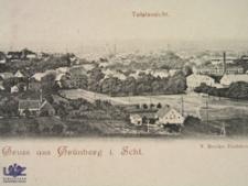 Zielona Góra / Grünberg; Totalansicht; Widok ogólny
