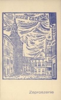 """Zaproszenie [...] na Uroczysty Koncert inaugurujący """"Dni Zielonej Góry"""" 1968 [...]"""