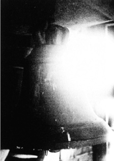 Wyszanowo (kościół filialny) - dzwon (datowanie - pocz. XVI w.)