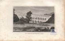 Die Gardon=Brücke bei Nimes