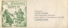 Dni Zielonej Góry 78: [koperta, papier okolicznościowy]
