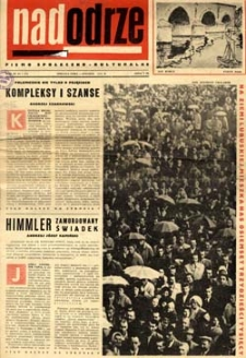 Nadodrze: pismo społeczno-kulturalne, styczeń 1965