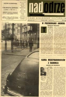 Nadodrze: pismo społeczno-kulturalne, luty 1965