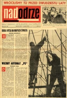 Nadodrze: dwutygodnik społeczno-kulturalny, 1-15 maja 1965