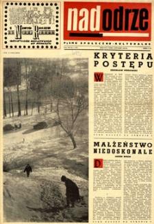 Nadodrze: pismo społeczno-kulturalne, styczeń 1963