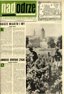 Nadodrze: pismo społeczno-kulturalne, październik 1963