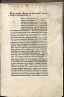 [I]Ncipit liber Beati Leonis pape Sermonum Et Sermo primus de ordinacione sua sequitur ...