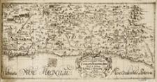 [TERRAE SANCTAE] TABULA IV et ULTIMA partes occidentales Tribuum EPHRAIM, BENIAMIN et JUDA simul et tribum DAN et SIMEON continens.