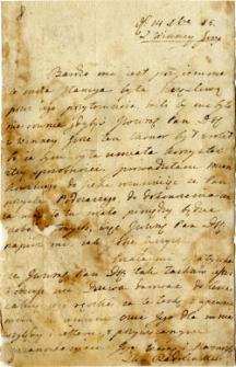 [List Radolińskiej do Józefa Mielżynskiego]