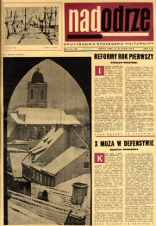 Nadodrze: dwutygodnik społeczno-kulturalny, 15-28 lutego 1966