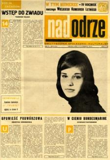 Nadodrze: dwutygodnik społeczno-kulturalny, 15-31 sierpnia 1966