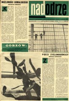 Nadodrze: dwutygodnik społeczno-kulturalny, 15-31 marca 1967
