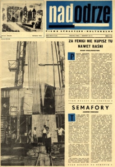 Nadodrze: pismo społeczno-kulturalne, sierpień 1964