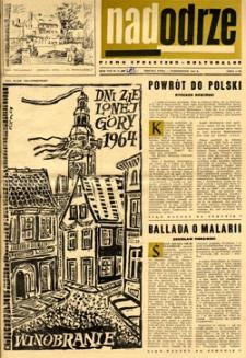 Nadodrze: pismo społeczno-kulturalne, październik 1964