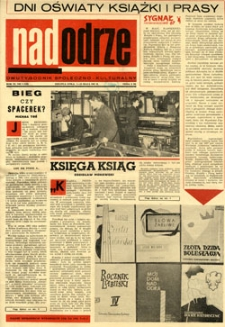 Nadodrze: dwutygodnik społeczno-kulturalny, 1-15 maja 1967