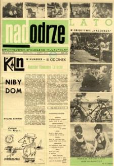 Nadodrze: dwutygodnik społeczno-kulturalny, 1-15 sierpnia 1967
