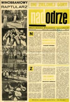 Nadodrze: dwutygodnik społeczno-kulturalny, 15-30 września 1967