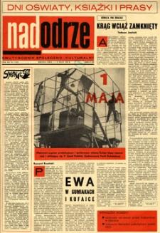 Nadodrze: dwutygodnik społeczno-kulturalny, 1-15 maja 1968