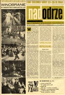 Nadodrze: dwutygodnik społeczno-kulturalny, 15-30 września 1968