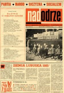 Nadodrze: dwutygodnik społeczno-kulturalny, 1-15 listopada 1968