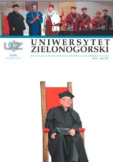 Uniwersytet Zielonogórski, 2007, nr 6 (czerwiec)