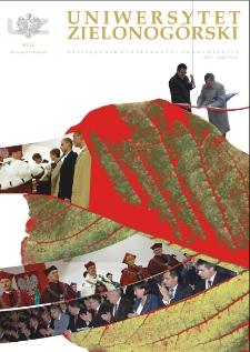 Uniwersytet Zielonogórski, 2007, nr 8 (listopad)